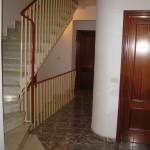 Pasillo de entrada a las habitaciones